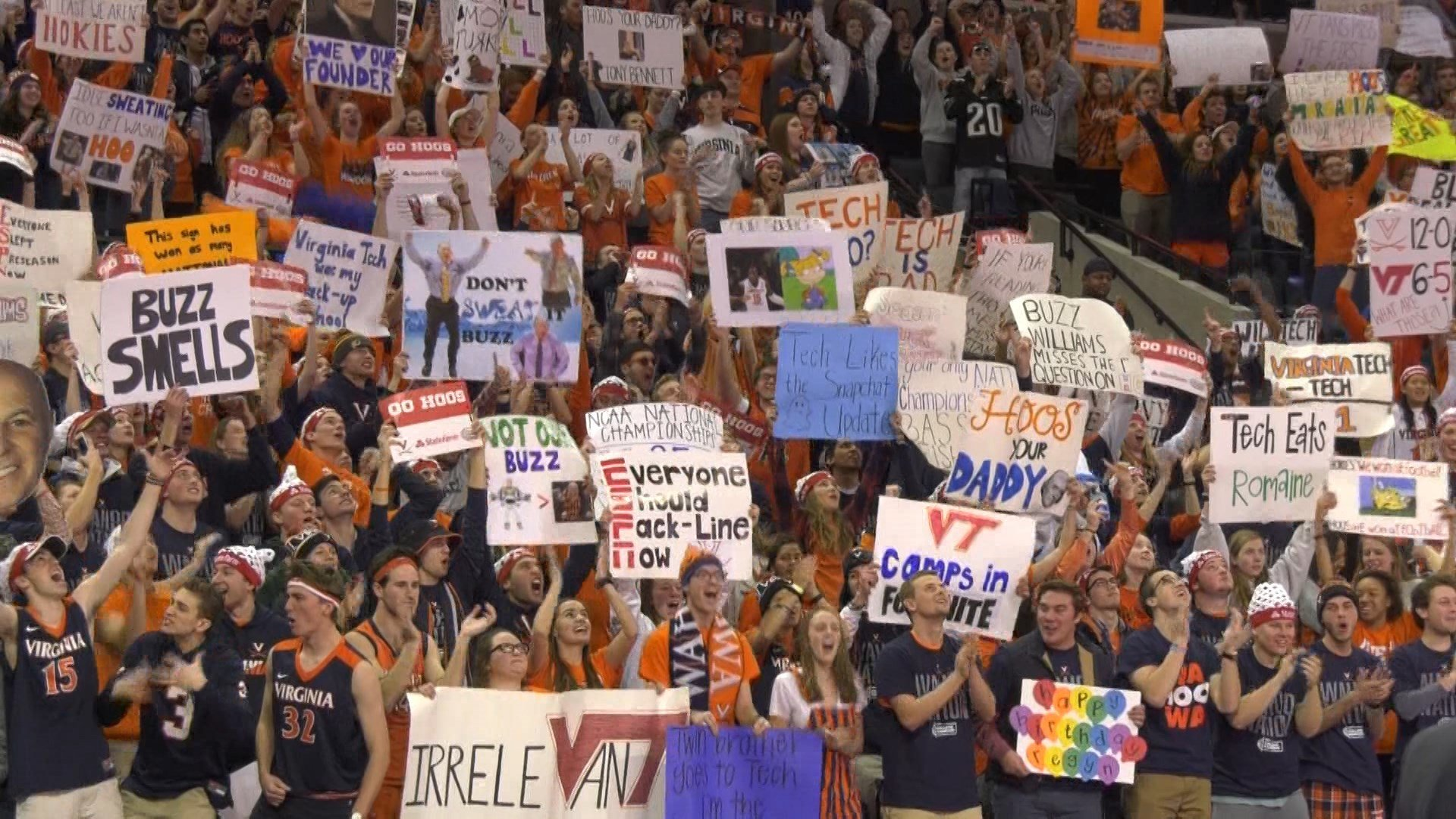 College GameDay was back in Charlottesville for the third time in four years
