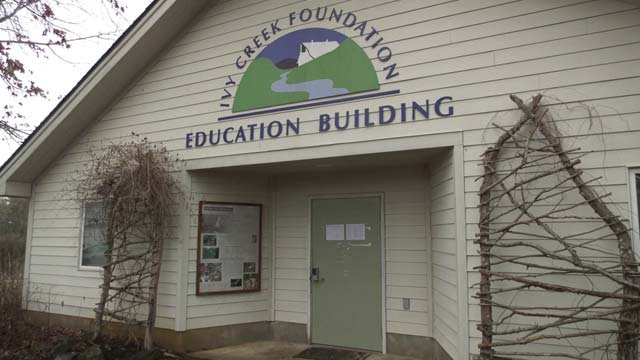 Many of the tapes were found in the Ivy Creek Education Building