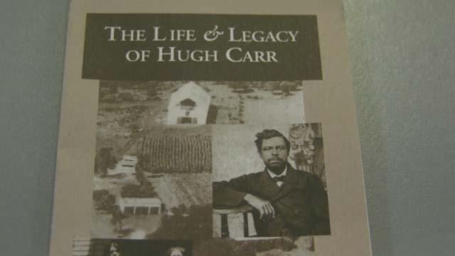 Hugh Carr originally owned this land