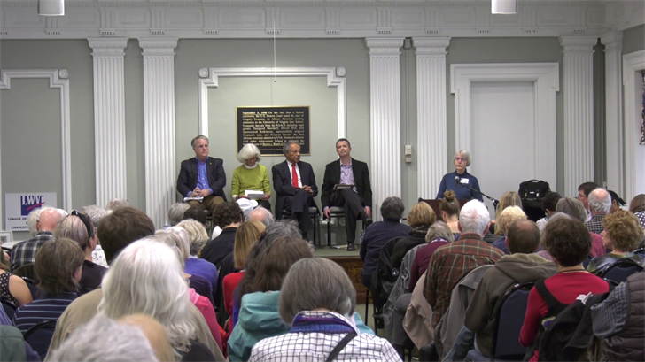 The panel told the audience that City Council's power is limited.