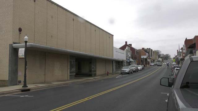 Main Street in Downtown Waynesboro