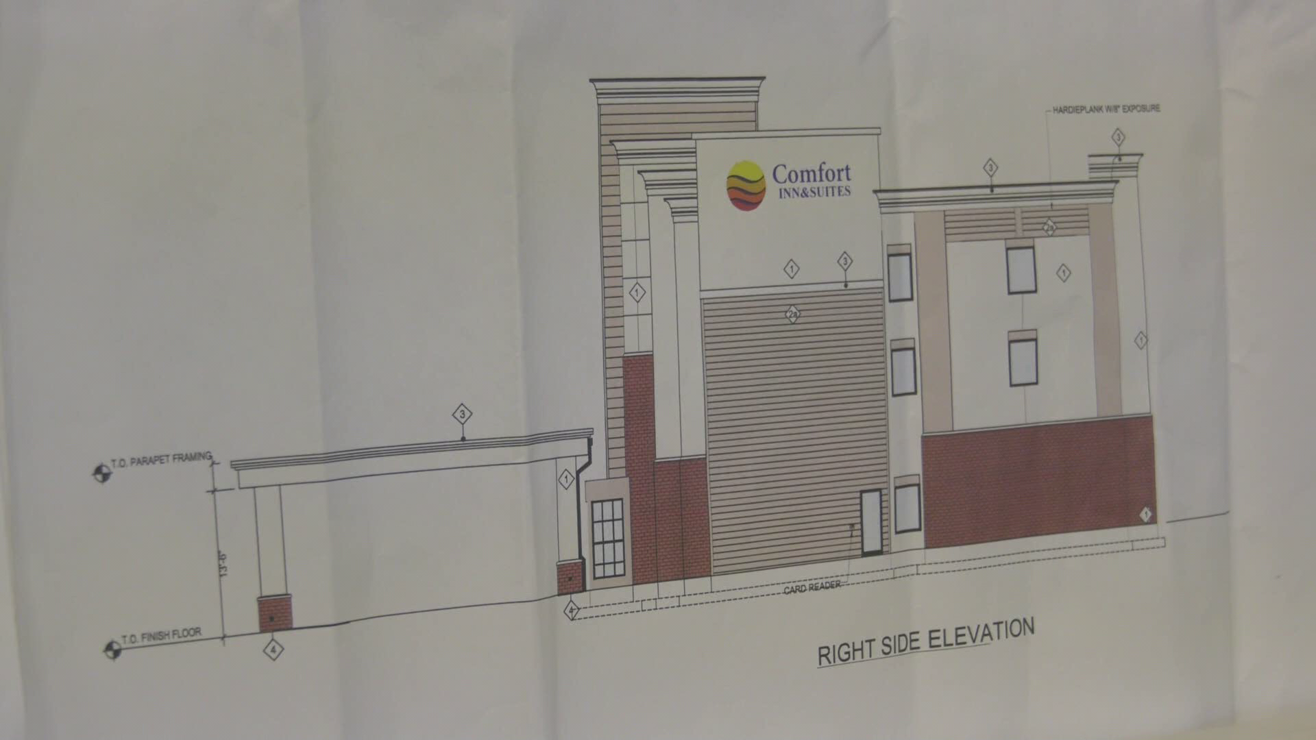One of the designs for potential construction.