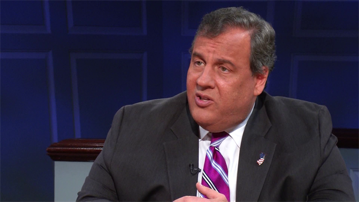 Christie believes that the country will stay divided as long as Trump remains president.