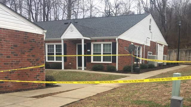 Scene of a death investigation in Lovingston (Photo courtesy WSLS)