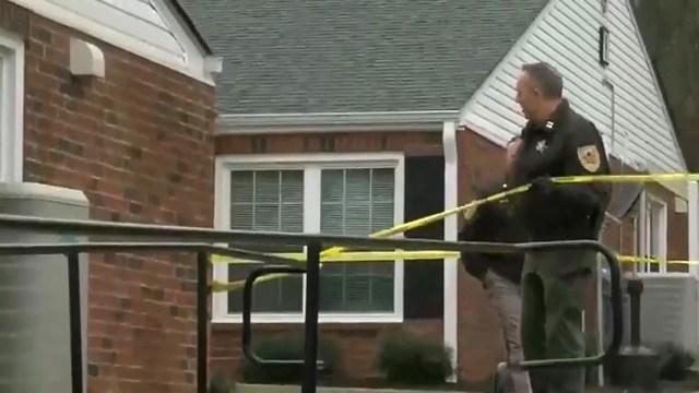 Scene of a death investigation in Lovingston (Image courtesy WSLS)