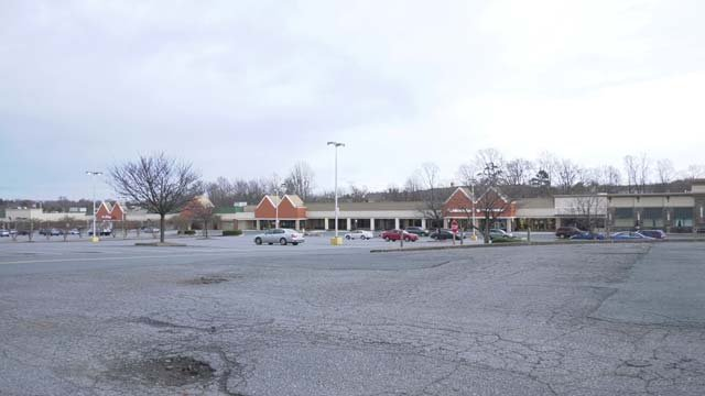Many commercial centers in Albemarle were never redeveloped