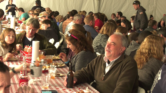 Attendees enjoyed plenty of pork inspired cuisine.