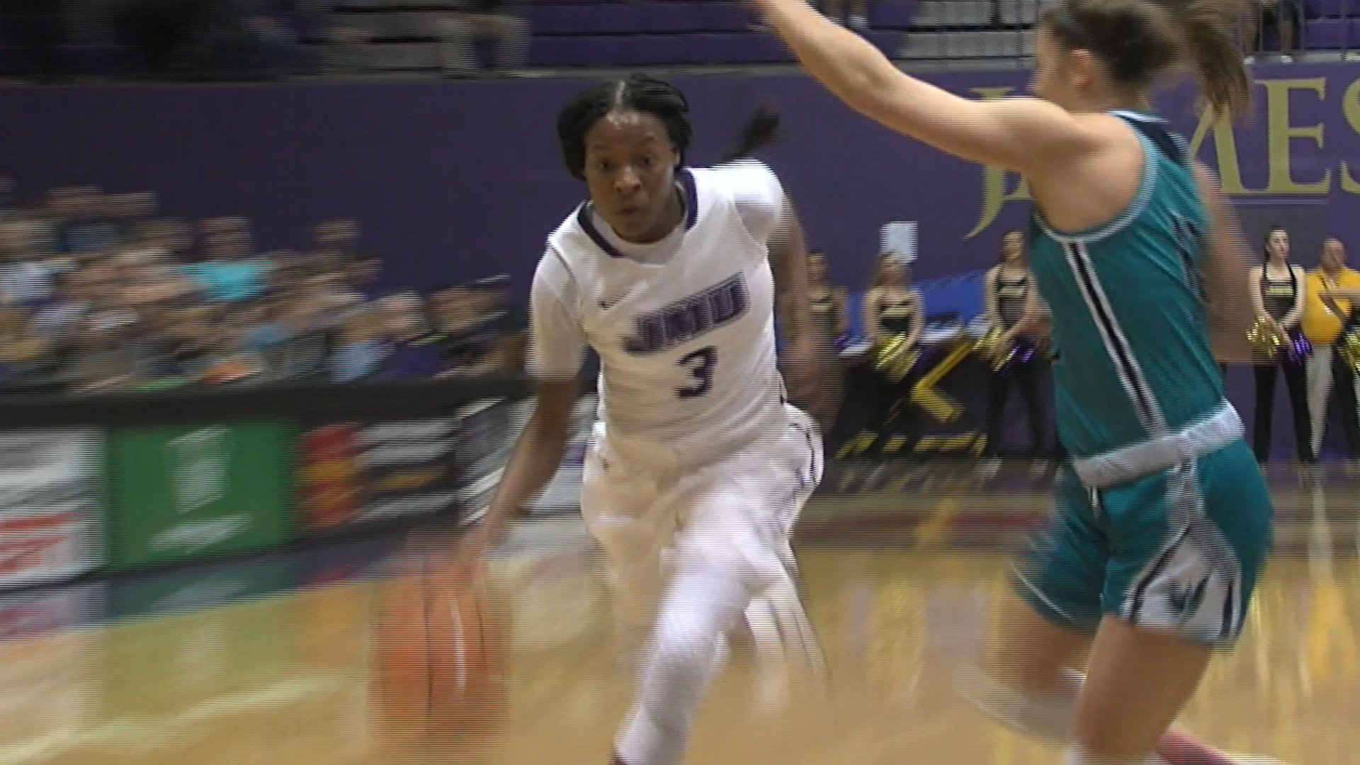 Kamiah Smalls led the Dukes with 17 points