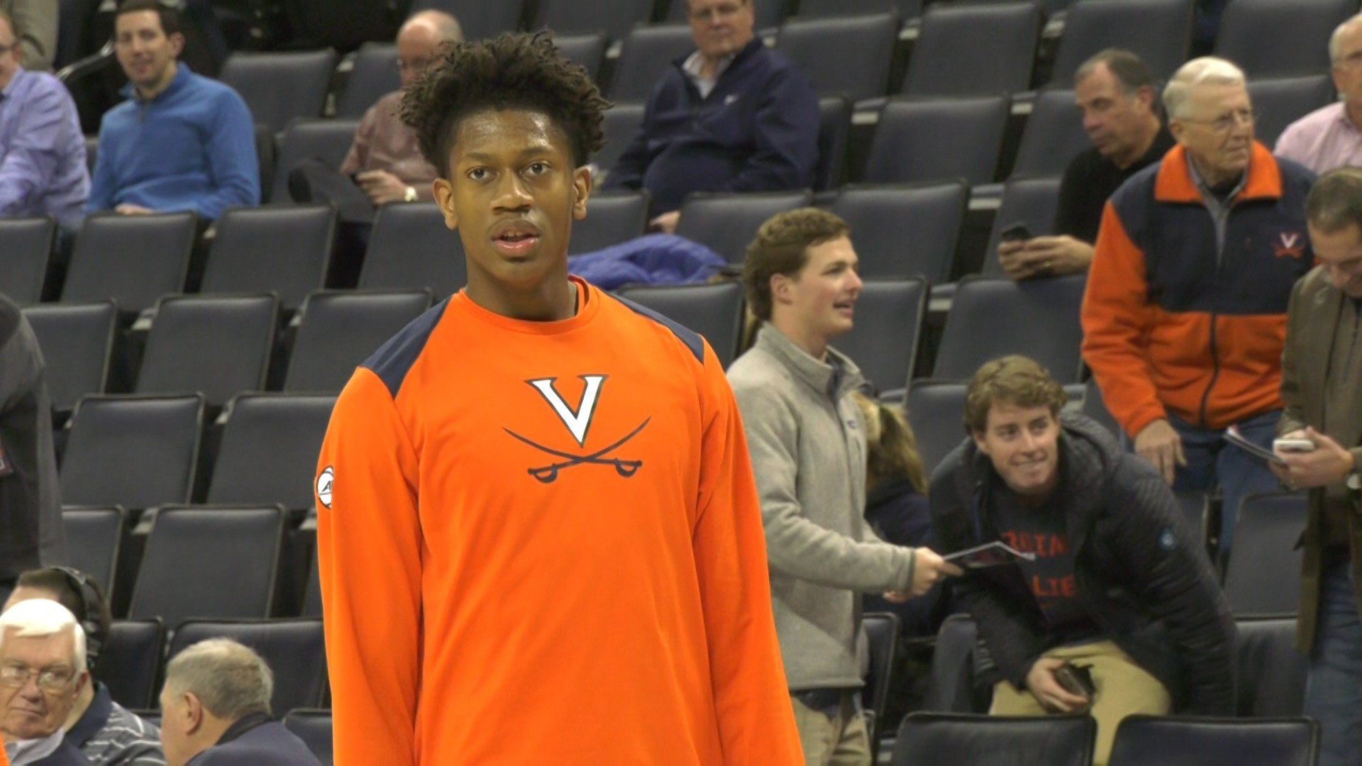Broken wrist benches UVA's De'Andre Hunter for NCAA Tournament