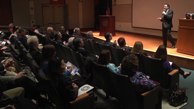Economic forum at Blue Ridge Community College