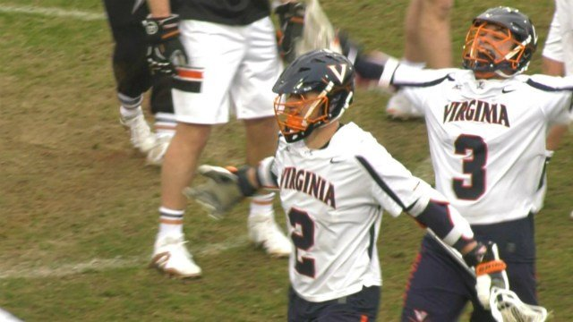 Ian Laviano had a hat trick for the 'Hoos, while Michael Kraus had 3 goals and 4 assists
