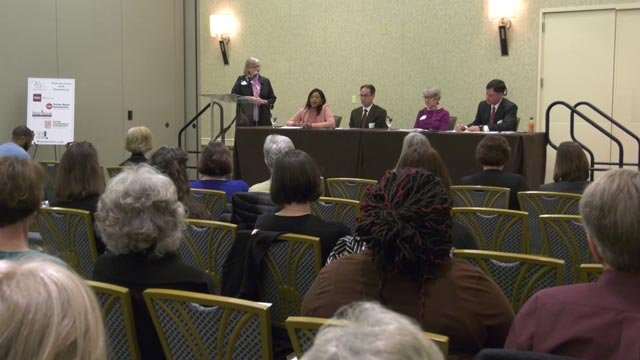Panelists discussed opioid addiction in central Va.