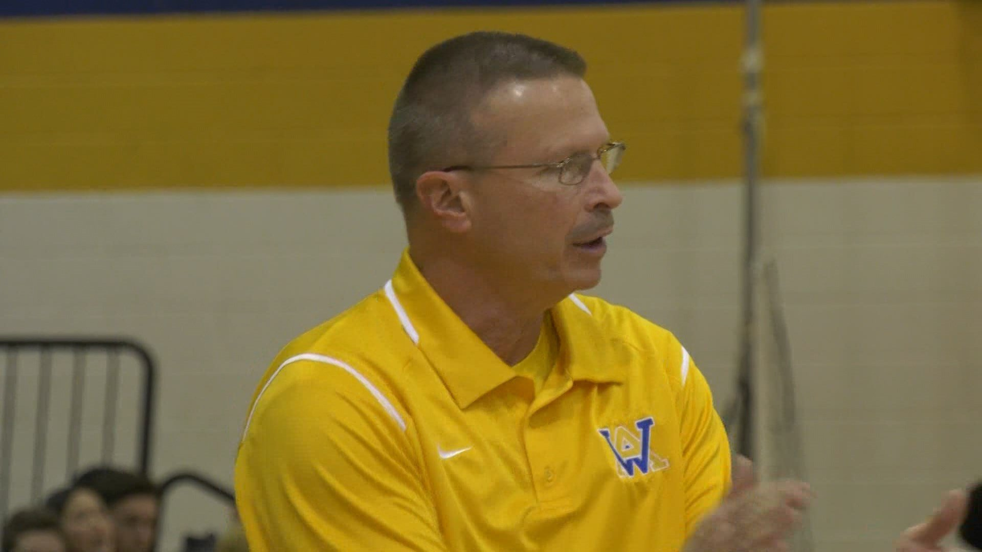 Western Albemarle head coach Darren Maynard