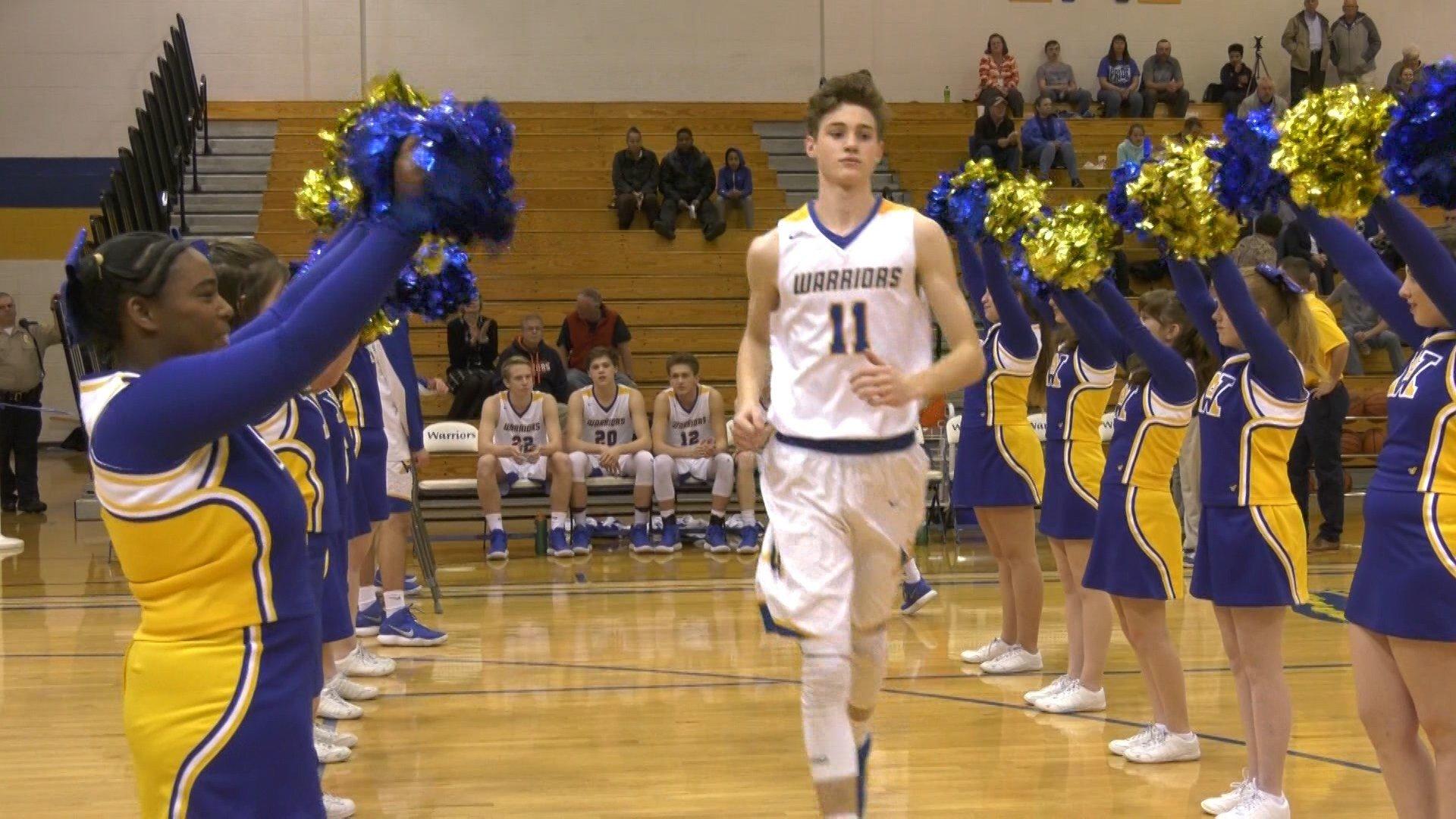 Sophomore Garrett Payne