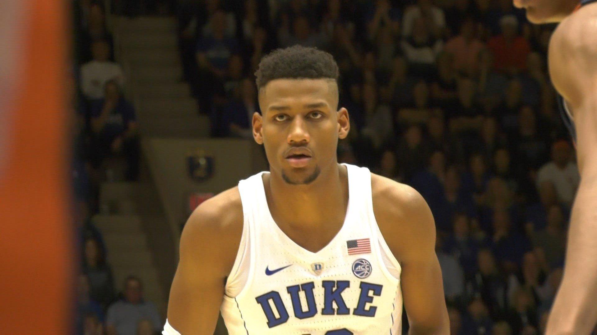 Duke's Javin DeLaurier