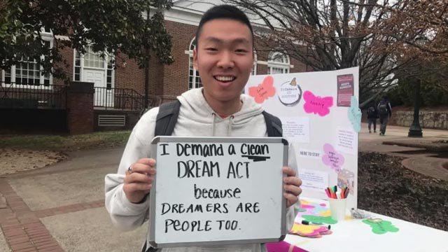 The group estimates 30-35 UVA students are DACA recipients