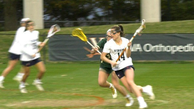 Maggie Jackson had a hat trick for the 'Hoos
