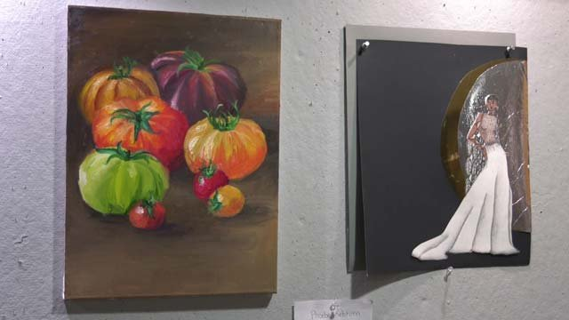 The art was done by Albemarle County Middle School students