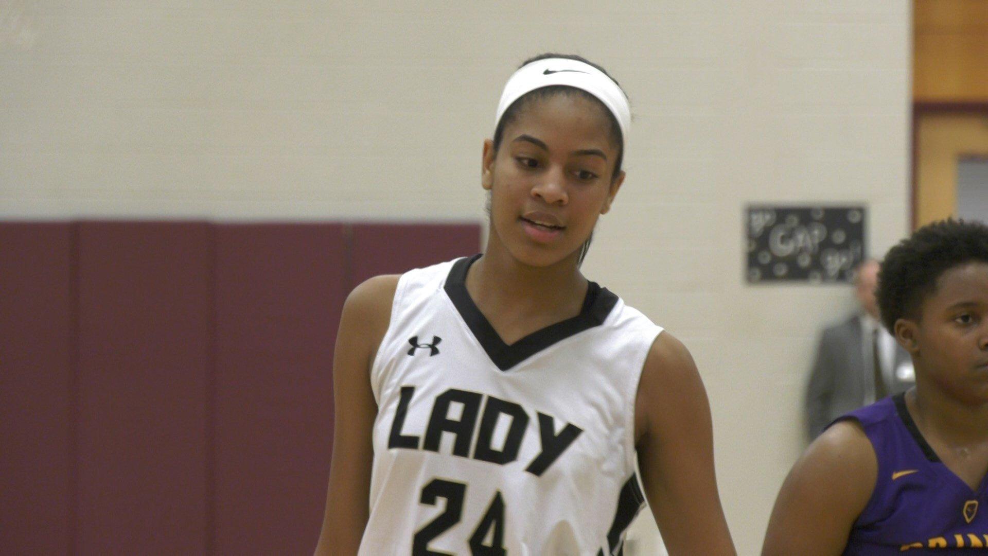 Amaya Lucas led Buffalo Gap with 20 points