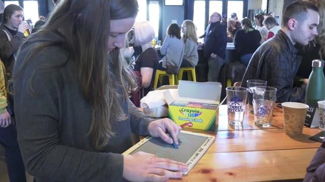 Chalkfest at Three Notch'd Craft Kitchen &Brewing