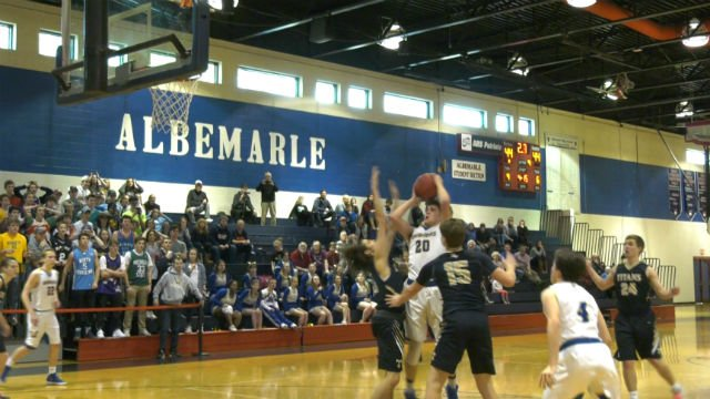 Thomas Mangrum hit the game-winning shot for Western Albemarle