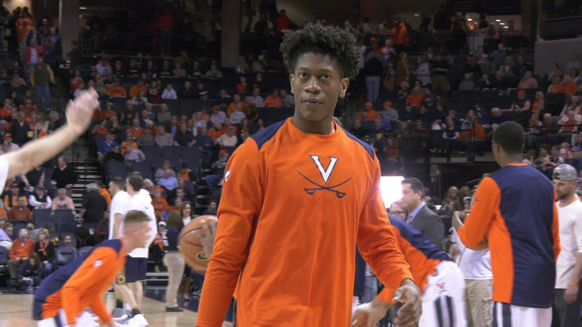 Redshirt freshman De'Andre Hunter was named Sixth Man of the Year