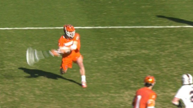 Tucker Dordevic scored the game-winning goal for SU