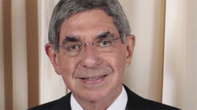 Former Costa Rican President Oscar Arias in 2009