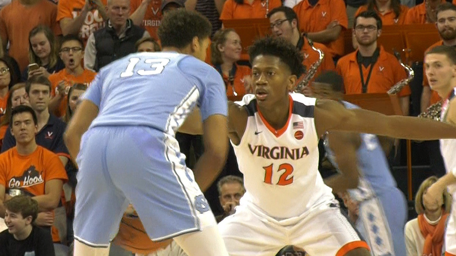 De'Andre Hunter won the ACC's 6th man of the year award