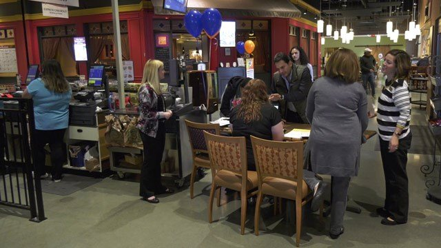 Hiring event at Wegman's in Albemarle County