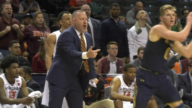 Virginia Tech head coach Buzz Williams
