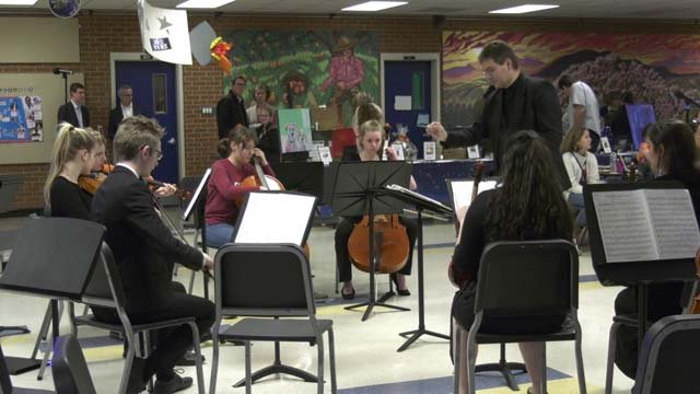 Musical performances at Friday night's fundraiser
