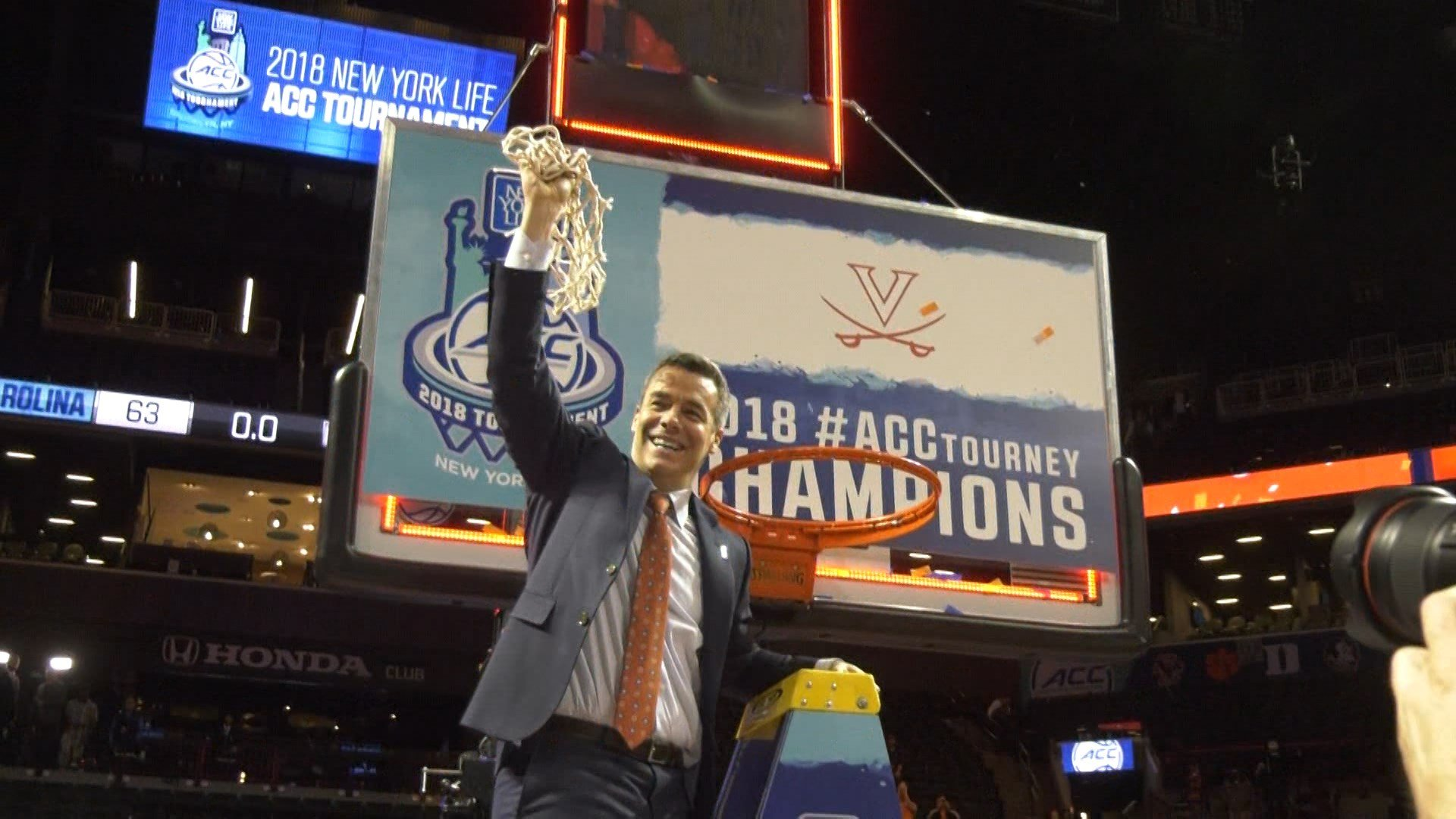 Virginia won the ACC Tournament title for the 3rd time in school history