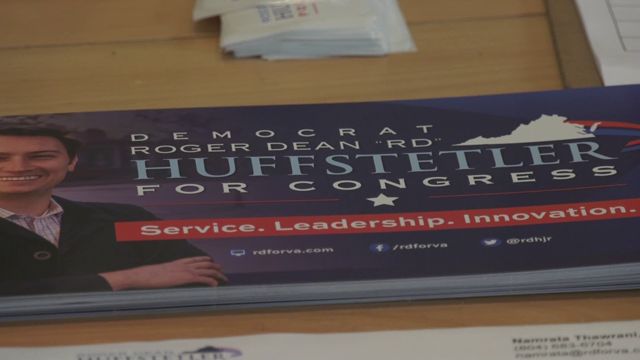 Huffstetler served in Iraq and Afghanistan in the Marine Corps.