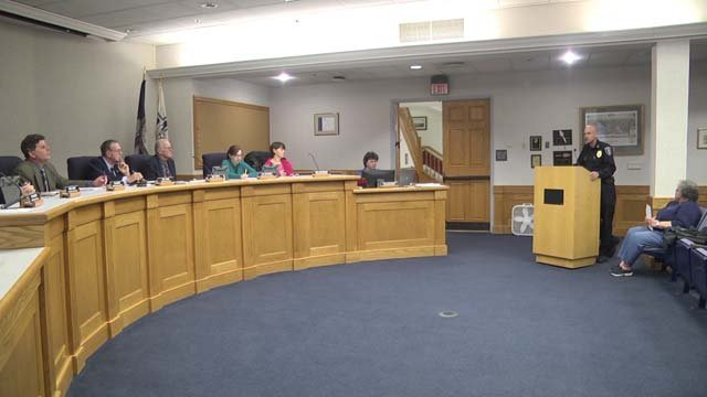 Staunton School Board meeting on March 12