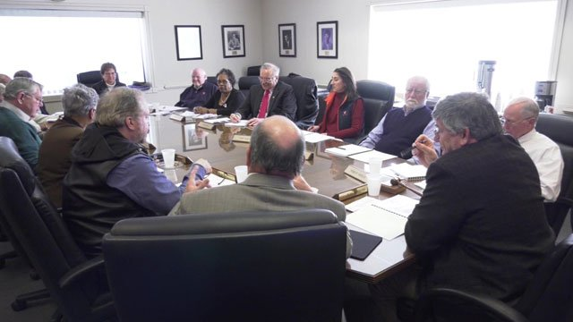 PVCC board meeting on March 14