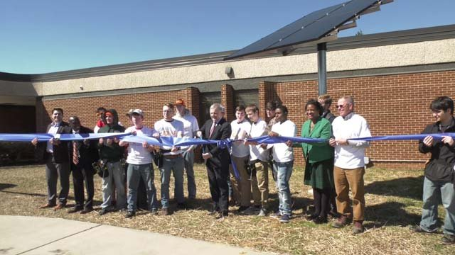 CATEC unveiled a new solar panel on March 16