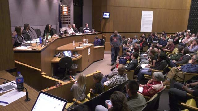 City Council meeting on Monday, March 19
