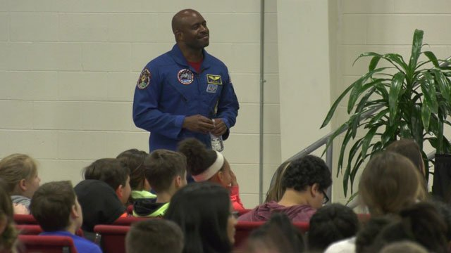 Melvin graduated from UVA and is a former astronaut