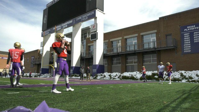 The Dukes have four players competing for the starting QB job this season