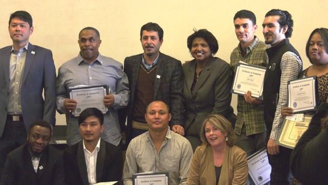 Graduates of the GO Driver program