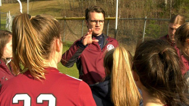 Paddy Foss is in his first season as the STAB girls soccer coach