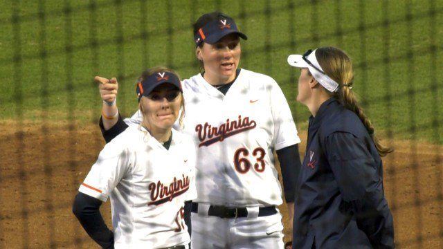UVA softball scored 17 runs the most for the program since 1995