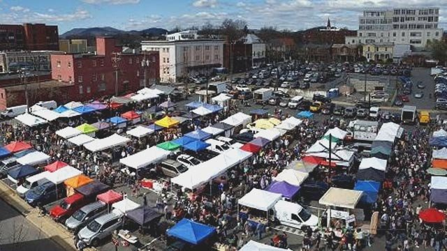 City Market (Photo courtesy Charlottesville)