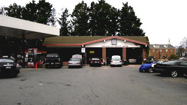 Tarleton Oak Service Station in Charlottesville