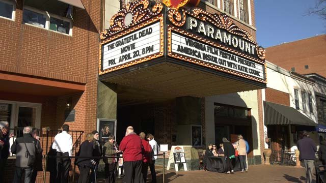 The Paramount Theater screened Couric's new series Wednesday