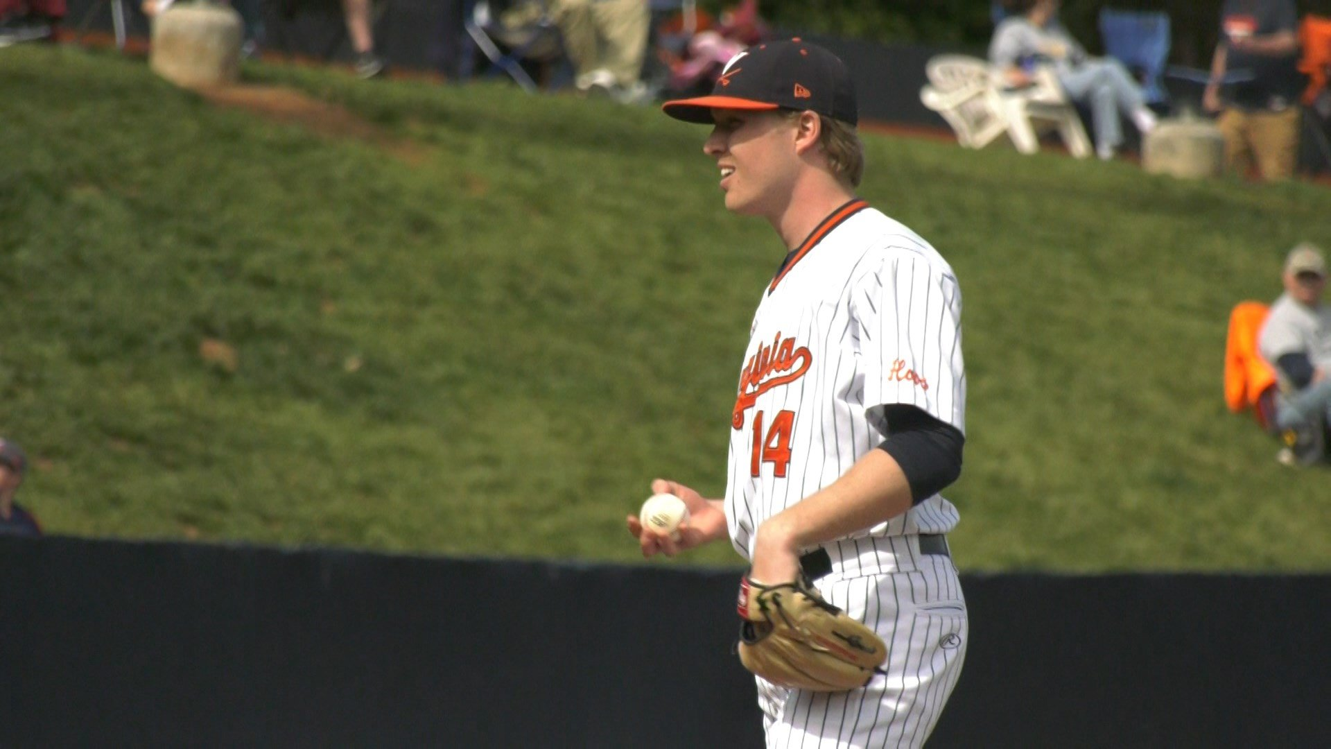 UVA senior pitcher Derek Casey pitched his first complete game in a 9-0 win over Virginia Tech on Friday