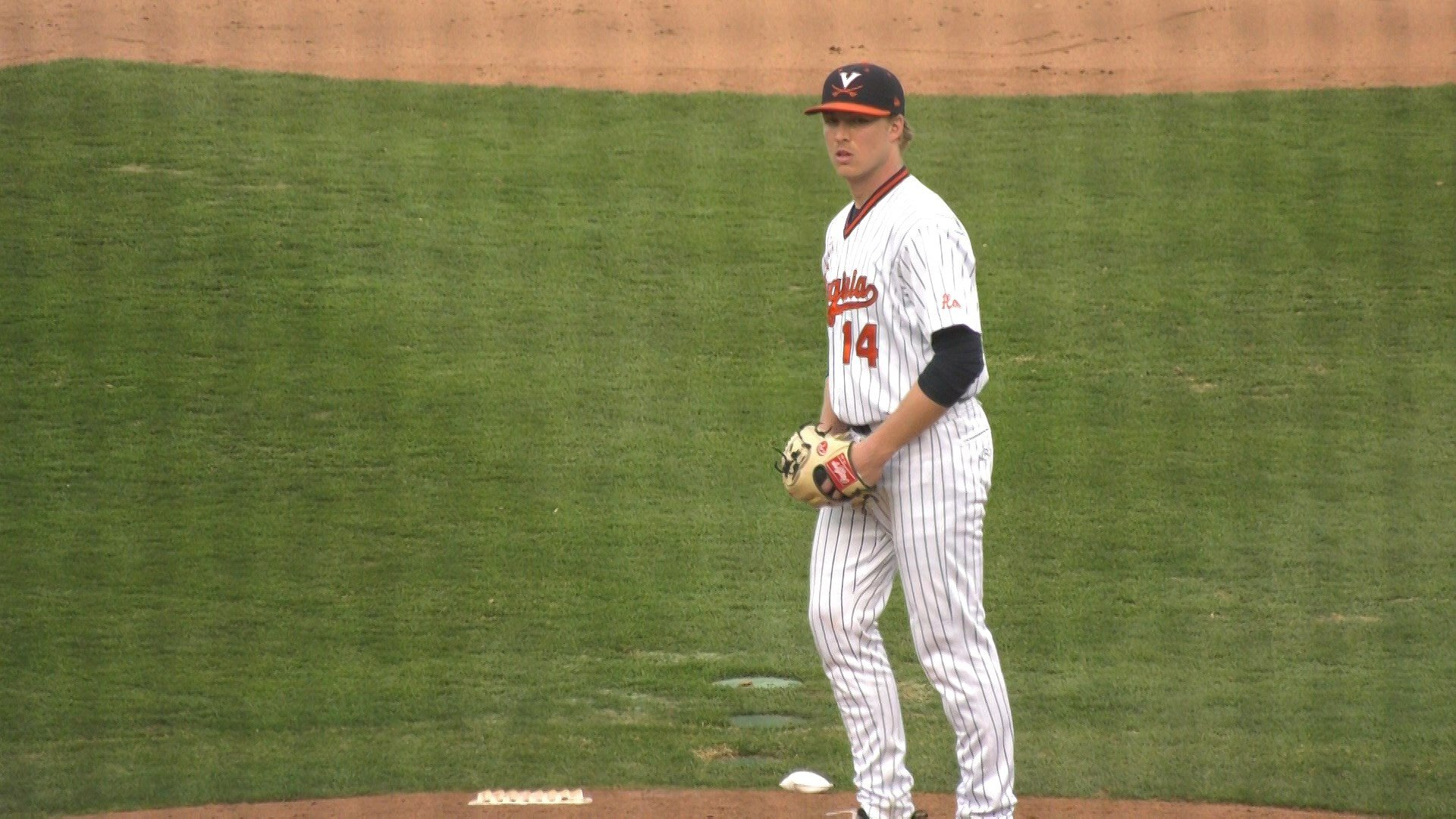 Derek Casey had 7 strike outs in the 9-0 win over Virginia Tech on Friday