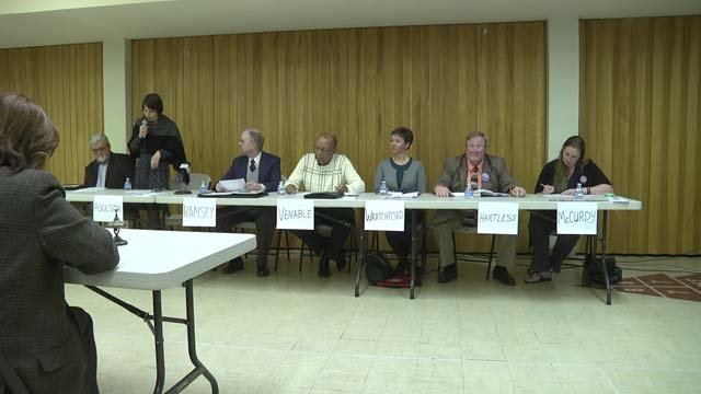 Staunton School Board candidates took part in a forum on April 10
