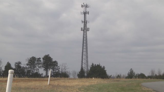 Communication tower, Greene County